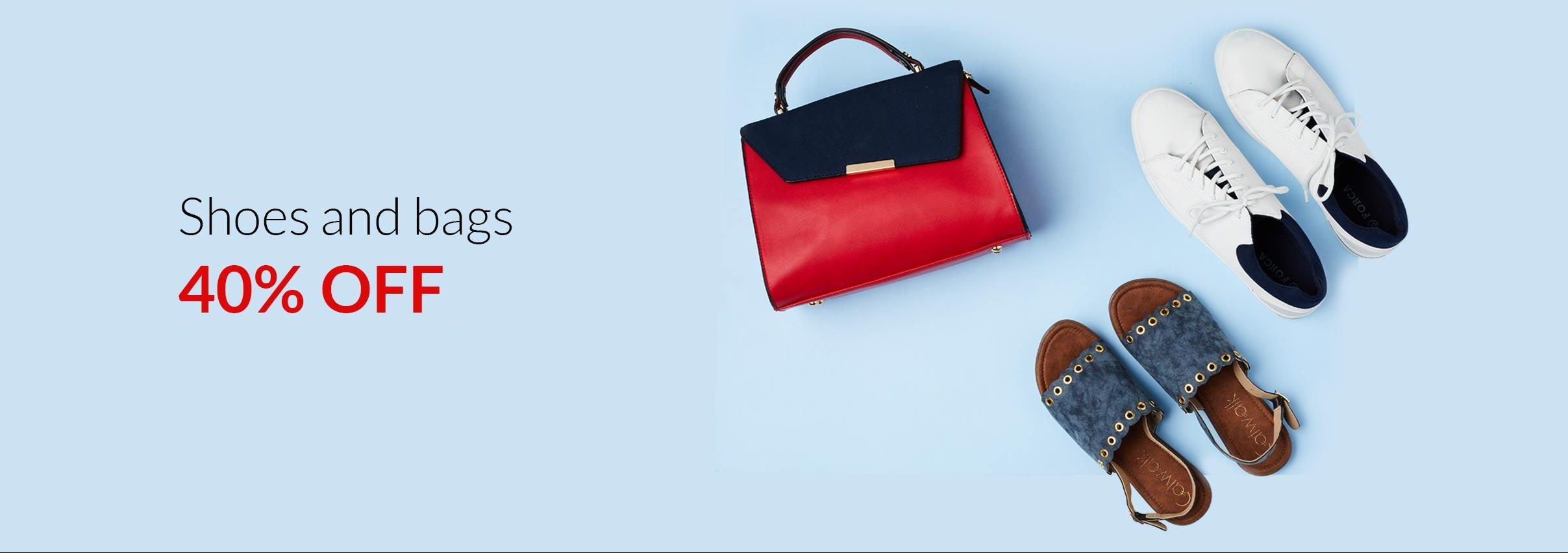 Lifestyle - 40% OFF on Shoes & Bags